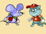 Мишка срещу котка